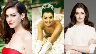 Happy Birthday Anne Hathaway! Here's To All The Times The Actress Proved What A Lovely Real-Life Princess She'd Make - View Pics
