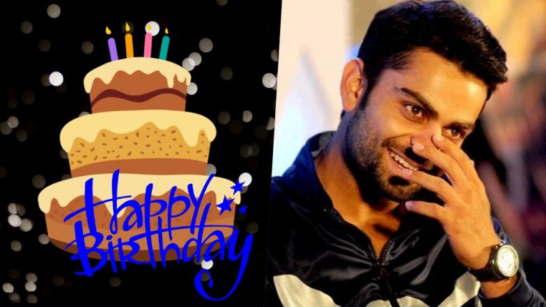 Virat Kohli Birthday Wishes & WhatsApp Messages: Send Greetings to Indian Captain on His 30th Birthday With These Sweet Quotes on Facebook and Twitter!