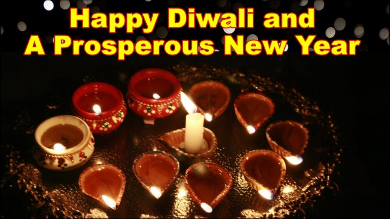 Happy Diwali & Prosperous New Year HD Images & Photos for WhatsApp Stickers & Messages: Best Deepavali Wishes, GIF Greetings & Facebook Pics Free to Download Online