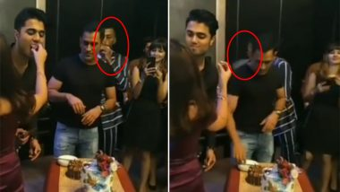 Was Hardik Pandya Smoking At Sakshi Dhoni's Birthday Party? Social Media Abuzz After Cake-Cutting Celebration Video Went Viral