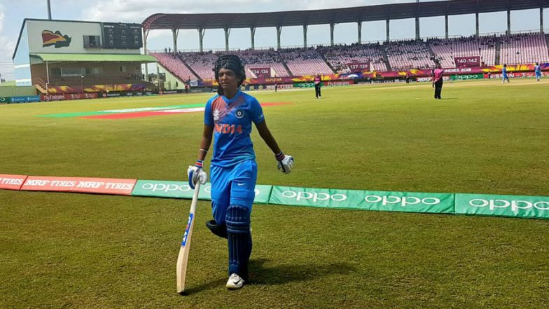 Harmanpreet Kaur Becomes First Indian Player to Score a Century in Women's T20Is, Achieves Feat During IND W vs NZ W in ICC Women's World T20 2018