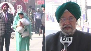 After Navjot Singh Sidhu, Union Ministers Harsimrat Kaur Badal And Hardeep Puri Reach Pakistan to Attend Kartarpur Corridor Event