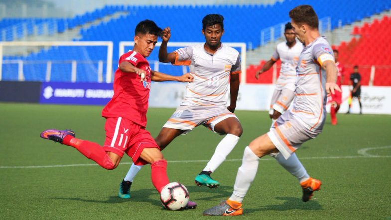 I-League 2018-19 Match Highlights: Sandro Rodriguez's Double Strike Helps Chennai City FC Beat Aizawl FC 2-1