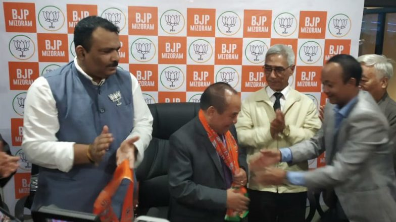 Mizoram Assembly Speaker Hiphei Resigns on Being Denied Ticket by Congress, Jumps Ship to BJP