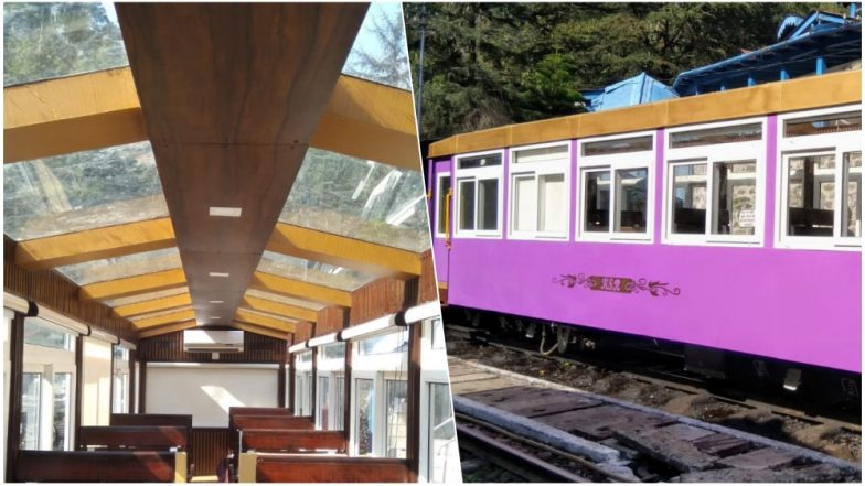 Kalka- Shimla HoHo Service with Glass-Top Ceiling Took Its First Trial Weeks Ago But Hasn't Got any Response From Tourists Yet!