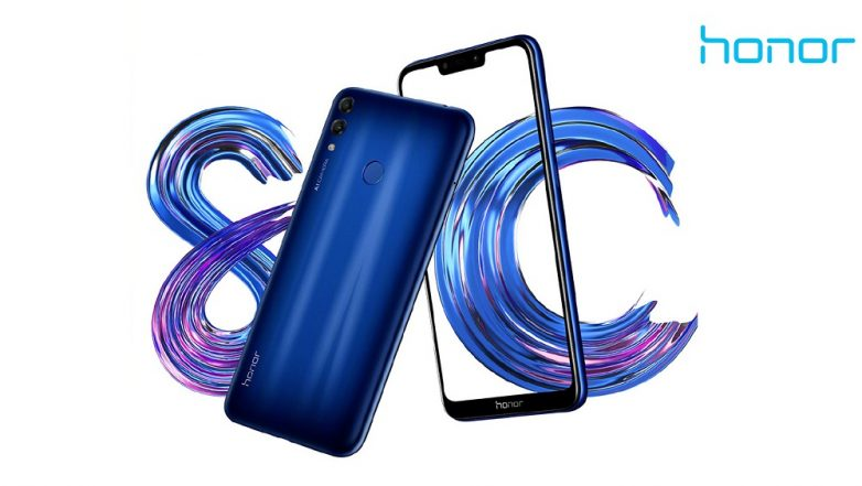Honor 8C Smartphone With 4000mAh Battery To Be Launched in India Next Week; Will Be Sold Online As Amazon Exclusive