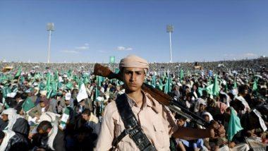Saudi Arabia-Led Coalition Destroys Yemen Rebels' Drone Cave in Air Strike