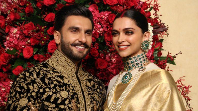 Ranveer Singh and Deepika Padukone At Their Wedding Reception In Bengaluru Spell Royalty: Watch Videos!