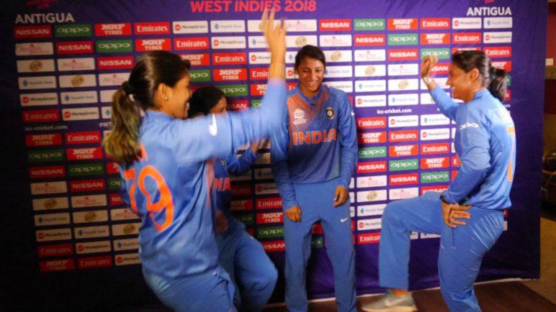 ICC Women's World T20 2018: Harmanpreet Kaur, Smriti Mandhana Show Off Their Dancing Skills Ahead of the Mega Tournament