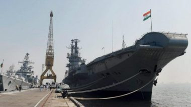 Indian Navy Veterans Slam Govt on Scrapping Decommissioned INS Viraat Aircraft Carrier, Criticises Move