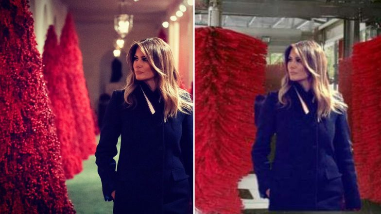 Christmas 2018 Decorations at White House: Pics and Video Shared by Melania Trump Lead to Funny Jokes and Memes