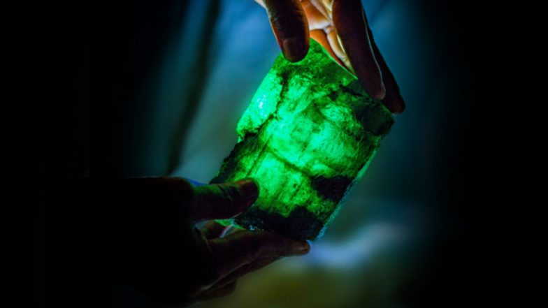 5,655-Carat Green Emerald Discovered in Zambia, to Be Auctioned in Singapore