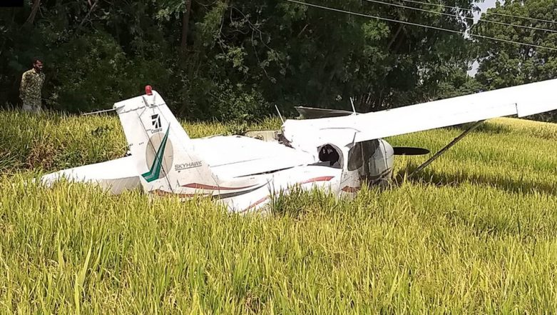 Private Trainee Aircraft Crashes in Telangana, Pilot Safe