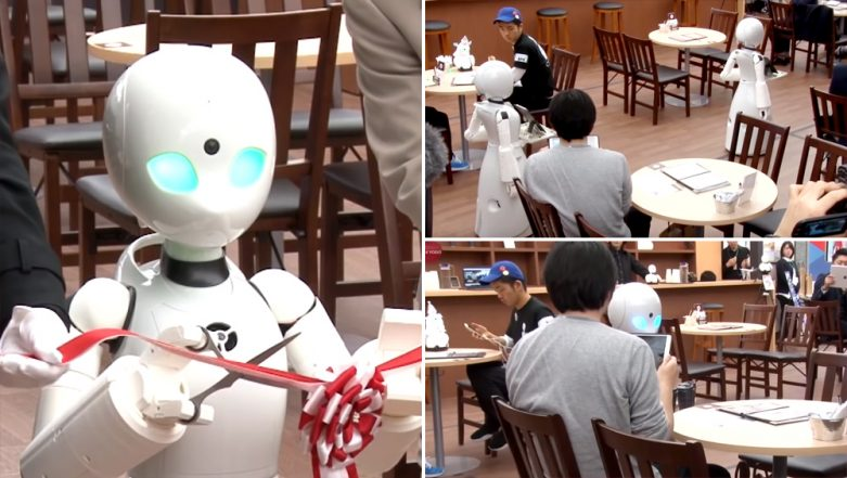 Robot Waiters To Serve People At Restaurant Run By The Disabled in Japan (Watch Video)