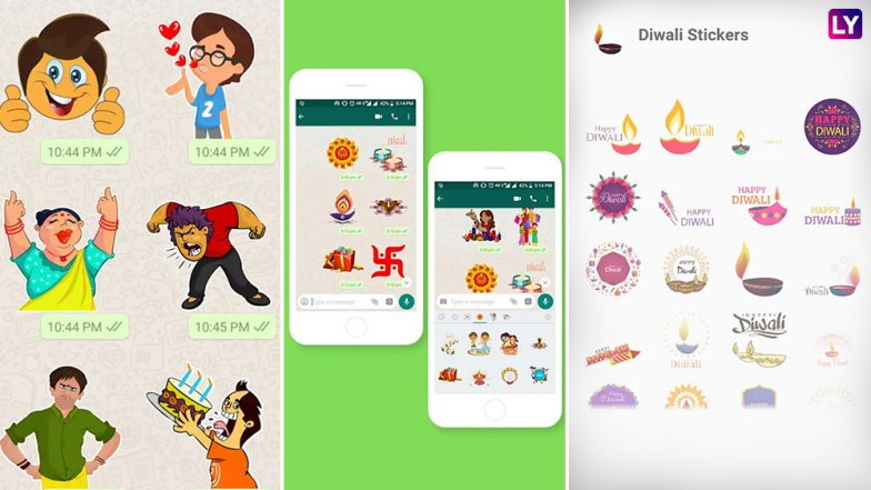 WhatsApp Stickers Pack Apps Free Download: Top Android Stickers Packs To Send Diwali Wishes & Greetings Online