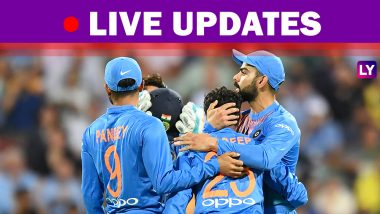 India vs Australia, 2nd T20I 2018 Highlights: Match Abandoned Called Off Due to Rain, Australia Lead Series 1-0!
