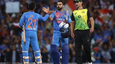India vs Australia, Canberra Weather, Rain Forecast and Pitch Report: Here's How Weather Will Behave for IND vs AUS, 1st T20I 2020 at Manuka Oval