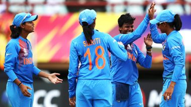Live Cricket Streaming of India vs Australia Women's T20 World Cup 2018 on Hotstar: Watch Free Video Telecast of IND vs AUS T20I Match on TV & Online from West Indies