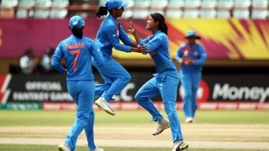 Live Cricket Streaming of India vs Ireland Women's T20 World Cup 2018 on Hotstar: Watch Free Video Telecast of IND vs IRE T20I Match on TV & Online from West Indies