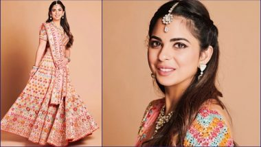 Isha Ambani-Anand Piramal Pre-Wedding Pics: See Bride-to-Be in Abu Jani Sandeep Khosla Lehenga