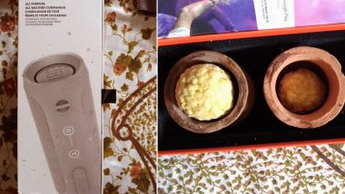 Woman Orders JBL Speaker Worth Rs 7000 From Amazon, Receives Box of Laddoos and Diyas, View Pics
