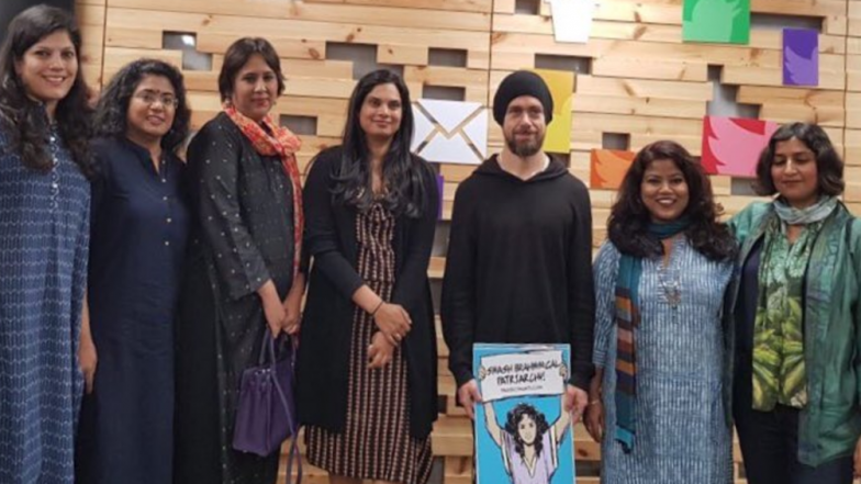 Twitter CEO trolled in India for holding a placard 'Smash Brahminical Patriarchy'