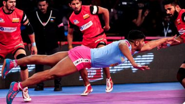 Jaipur Pink Panthers vs Gujarat Fortunegiants, PKL 2018-19, Match Live Streaming and Telecast Details: When and Where To Watch Pro Kabaddi League Season 6 Match Online on Hotstar and TV?