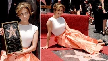 Jennifer Lopez's Hollywood Walk of Fame Star Vandalised With Black Paint