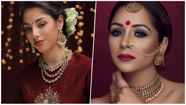 Jewellery & Make Up Tips for Festive Season: Enhance Your Simple Outfit by Complimenting it With Perfect Styling