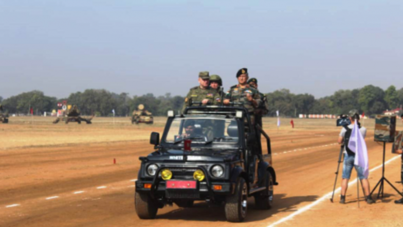 Tenth Indo-Russian Joint Exercises 'INDRA 18' Begins at Babina Military Station in Uttar Pradesh's Jhansi, to Ramp Up Military Ties