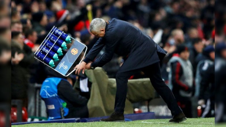 Watch Video Highlights of Jose Mourinho's Epic Celebration After Marouane Fellaini's Goal Against Young Boys in UEFA Champions League 2018–19 Match!
