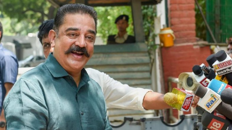 Makkal Needhi Maiam to Contest in Tamil Nadu Bypolls, Announces Kamal Haasan on 64th Birthday