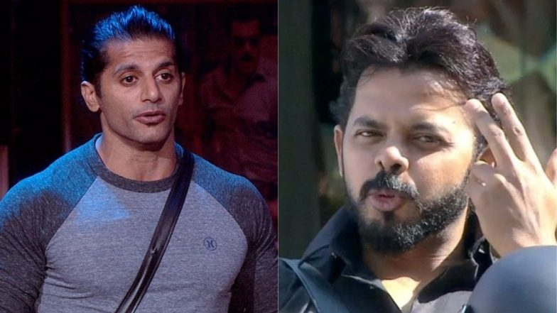 Sreesanth and Karanvir Bohra get into a