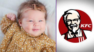 Baby Girl Named Harland After KFC's Colonel Sanders, Wins USD 11,000 As Promised by the Fast Food Chain