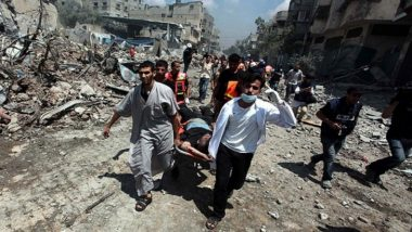 Israel-Palestine Conflict: 52,000 Palestinians Take Refuge in UN-Run Schools in Gaza Strip, Says UN Report