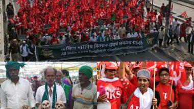 Kisan Mukti March Day-2: Farmers Begin March to Gherao Parliament; Chant 'Ayodhya Nahi, Karz Maafi Chahiye'