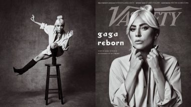 Lady Gaga's Black And White Photoshoot With Variety Mag Is Sublime - View Pics