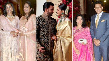 Deepika Padukone-Ranveer Singh Wedding Reception Pics & Videos: PV Sindhu, Anil Kumble and Venkatesh Prasad Attend DeepVeer's Bash in Bengaluru!