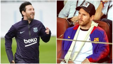 Lionel Messi Injury Update: FC Barcelona Forward Returns to Training 11 Days After Fracturing Forearm