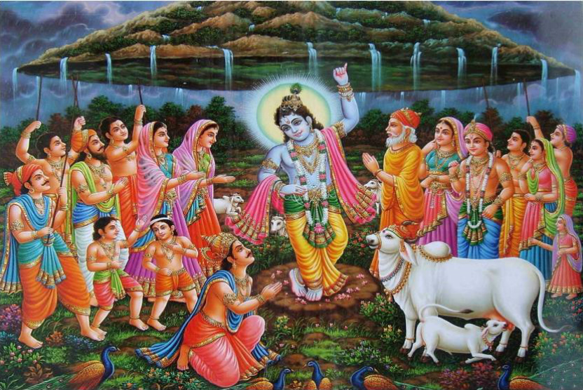 Govardhan Puja Image And Wallpapers In Hd