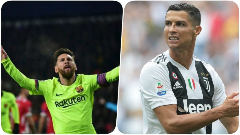 Lionel Messi Pips Cristiano Ronaldo's Record; Scores More Goals than CR7 in the Champions League