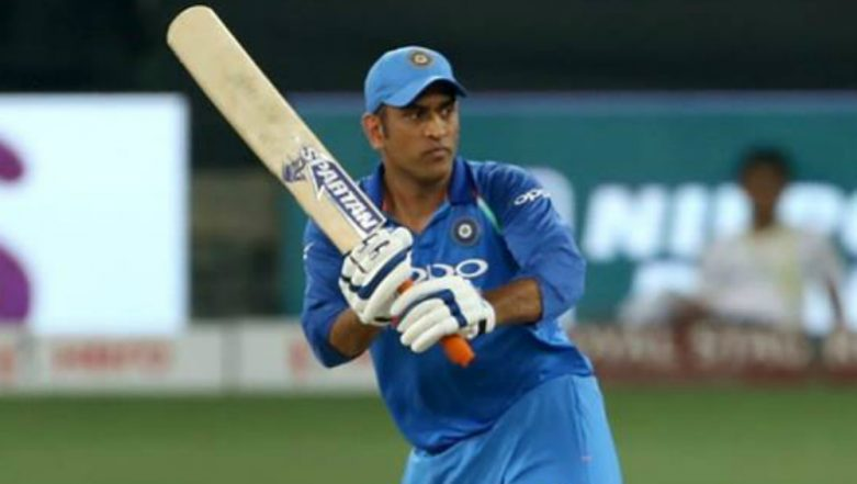 MS Dhoni Misses an ODI Match for the First Time in Six Years Due to a Sore Hamstring