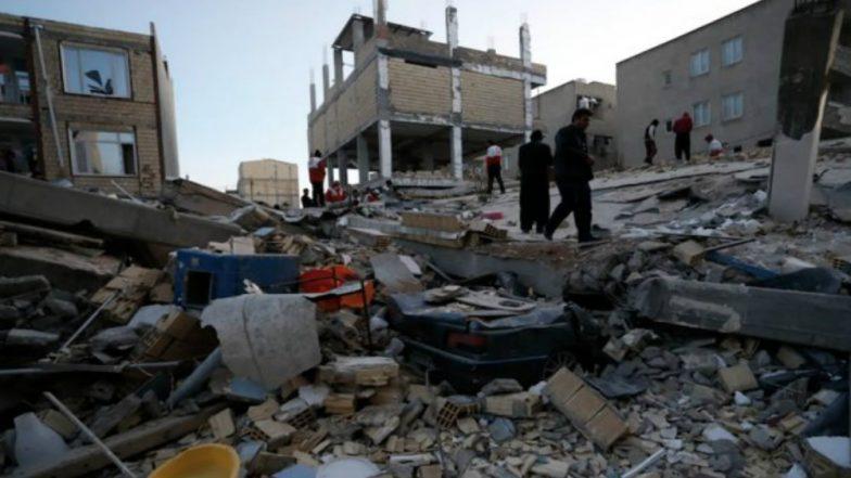 Iran Earthquake:  6.4-magnitude Quake Hit Kermanshah Province, Over 600 Injured
