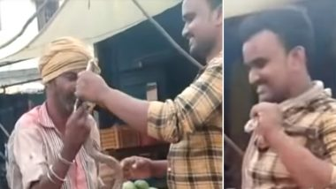 Selfie With Cobra Turns Fatal: Man Tries to Put Snake Around his Neck, Dies After Snake-bite  in Andhra Pradesh, Watch Video