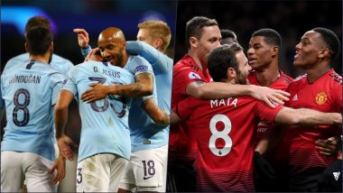 Man City vs Man United, EPL 2018–19 Live Streaming Online: How to Get Manchester Derby Live Telecast on TV & Free Football Score Updates in Indian Time?