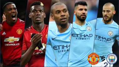 Manchester Derby 2018 Players to Watch Out For: Man City vs Man United Will See Clash of Titans in Premier League Match on Sunday