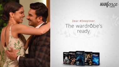 Deepika Padukone Weds Ranveer Singh: Manforce Condoms Suggests Them What to Wear on D-Day!