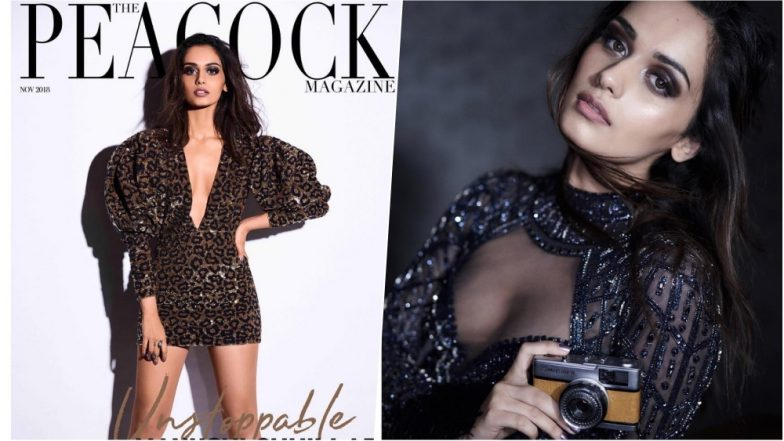 Manushi Chhillar Looks Hot AF in Leopard Print Mini Dress on Cover of The Peacock Magazine, View Pic