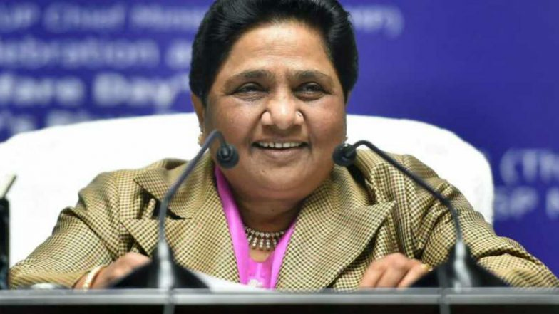 Mayawati Likens Congress to BJP, Slams Kamal Nath Government For Invoking NSA Against Cow -Slaughter Accused