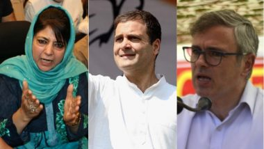 Jammu And Kashmir: PDP Stakes Claim to Form Government With Congress, National Conference's Backing